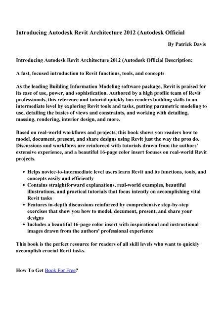 Single Curtain Autodesk Revit Architecture 2012 t