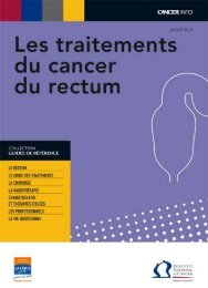 76 pages - Institut National Du Cancer