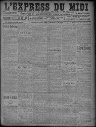 17 Juillet 1898 - Bibliothèque de Toulouse