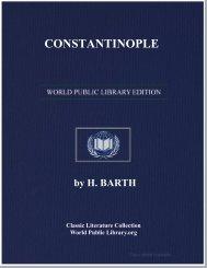 CONSTANTINOPLE - World eBook Library