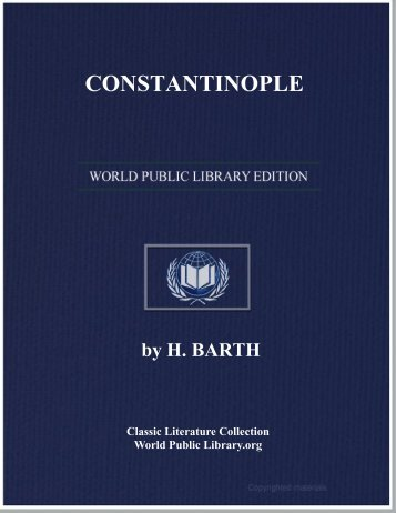 CONSTANTINOPLE - World eBook Library