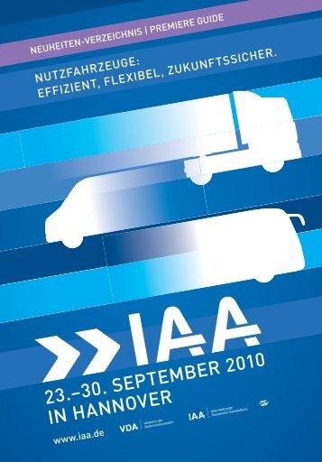 neuheiten-verzeichnis - Archiv - IAA
