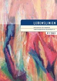 1/2001 - u.a. Lebendspende, Immunsuppression ... - Aktuell