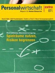 Alphabetisierung in Finanzfragen - Archiv - Personalwirtschaft