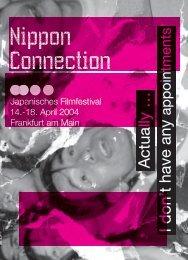 pdf-Datei - Nippon Connection Filmfestival, Frankfurt am Main