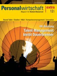 Talent Management reloaded - Archiv - Personalwirtschaft