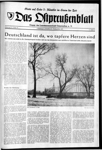 Folge 52 vom 23.12.1972 - Archiv Preussische Allgemeine Zeitung