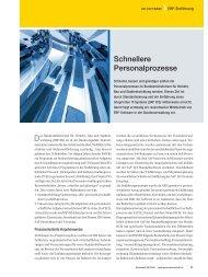 ERP-Einführung: Schnellere Personalprozesse - Archiv ...
