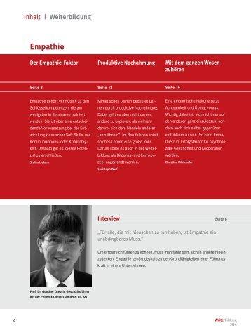 Empathie - Archiv