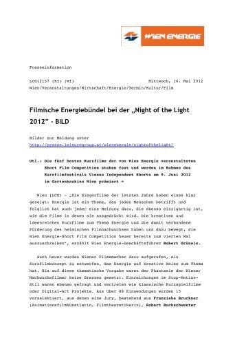 """Filmische Energiebündel bei der """"Night of the Light 2012"""" – BILD"""