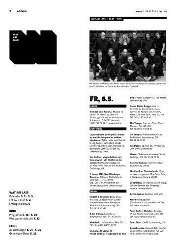Fr, 6.5. - woxx