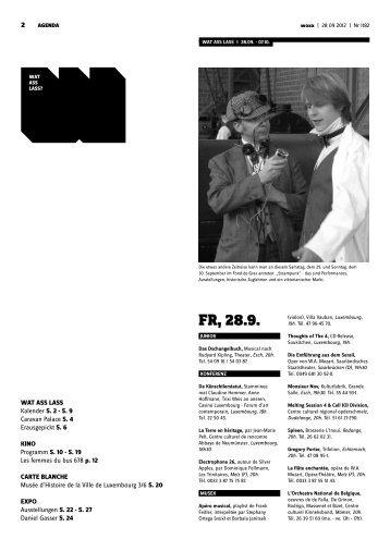 Fr, 28.9. - woxx