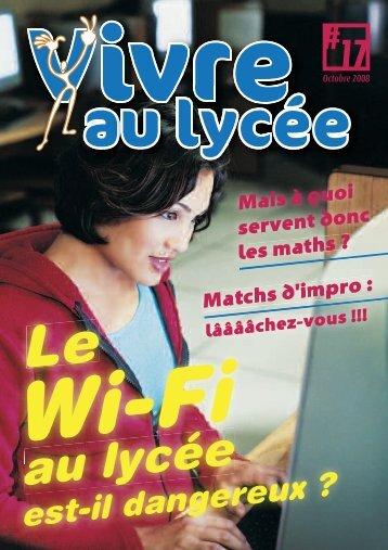 Vivre au lycée - Octobre 2008 - Icemedia.fr