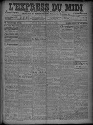 12 janvier 1909 - Bibliothèque de Toulouse