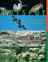 biodiversité et espèces invasives biodiversité et espèces invasives