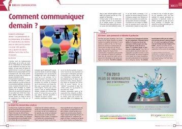 DOSSIER Comment communiquer demain - CCI Nantes St Nazaire