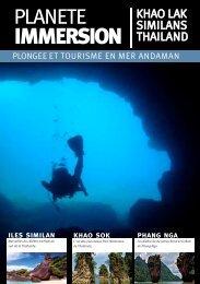 iles similan - Planète Immersion le guide de la plongée et du voyage