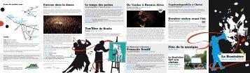 Saison culturelle 2012-2013 - Site officiel La Bouëxière