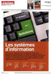.es systemes d'information - Acteos