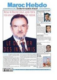 Retour de Moumen Diouri, après trente trois ans d'exil et d ...