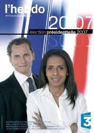 édition spéciale présidentielle 2007 p. 6-8 sur la ... - Cécile Auguste