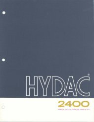HYDAC 2400 Hybrid Digital/Analog Computer, 1963