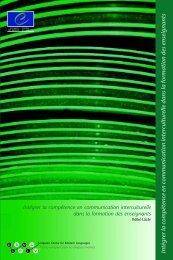 Intégrer la compétence en communication interculturelle dans la ...