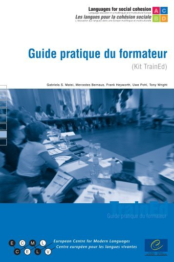 Guide pratique du formateur - the ECML | Bienvenue au CELV ...