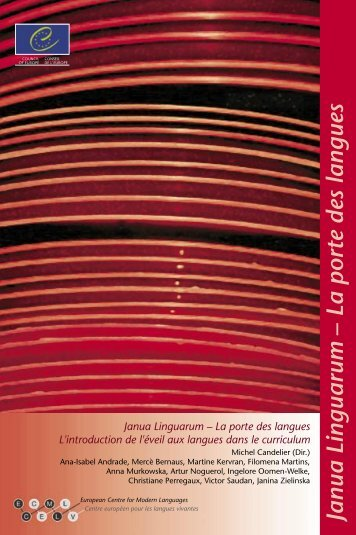 Janua Linguarum – La porte des langues - the ECML | Bienvenue ...