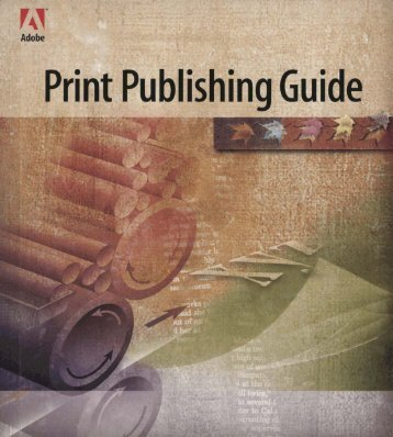 Adobe Print Publishing Guide 1995