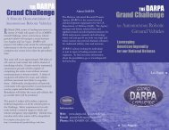 Grand Challenge Brochure - Defense Advanced Research Projects ...