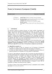 Description de projet - the ECML | Bienvenue au CELV