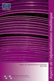 Aspects de l'alphabétisation multilingue - the ECML | Bienvenue au ...