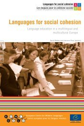 cohesion - European Centre for Modern Languages