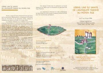 lérins, une île sainte de l'antiquité tardive au moyen âge