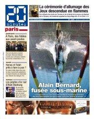 Alain Bernard, fusée sous-marine