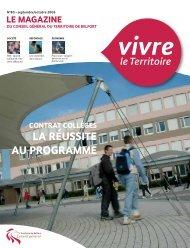 Magazine n° 80 septembre-octobre 2006 - Territoire de Belfort