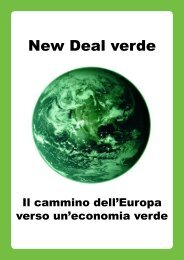 Il cammino dell'Europa verso un'economia verde - The Greens