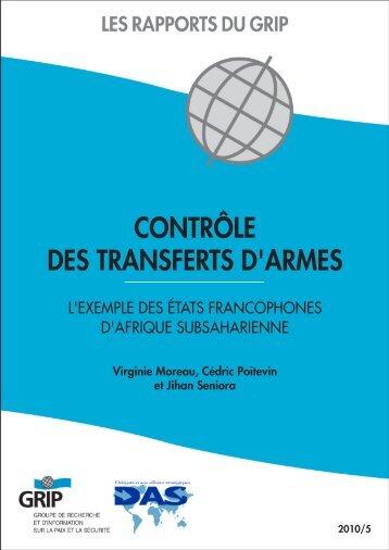 contrôle des transferts d'armes - Grip
