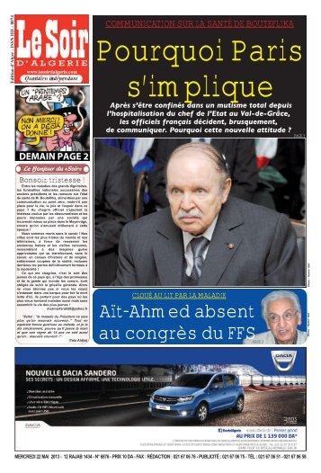 Aït-Ahmed absent au congrès du FFS - Le Soir d'Algérie