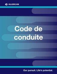 Code de conduite - Allergan
