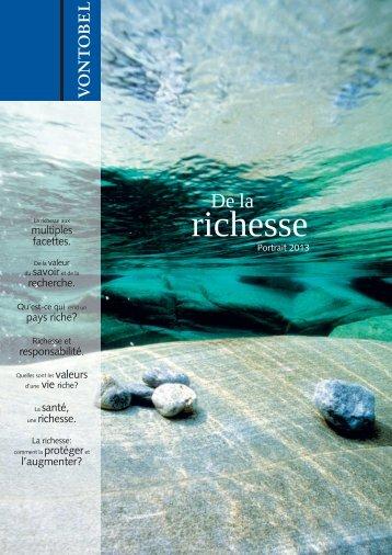 richesse - Vontobel