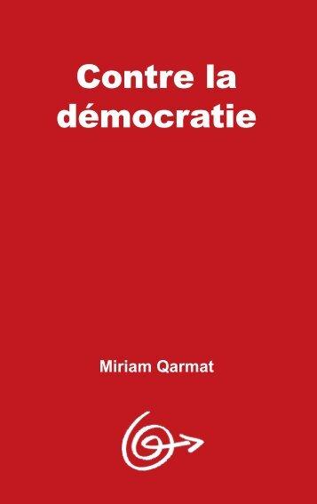 PDF Contre la démocratie - gci-icg