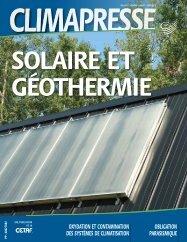 Solaire et géothermie - CETAF