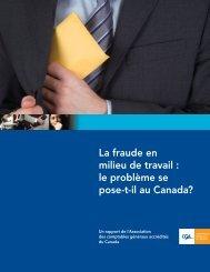 La fraude en milieu de travail - Certified General Accountants ...