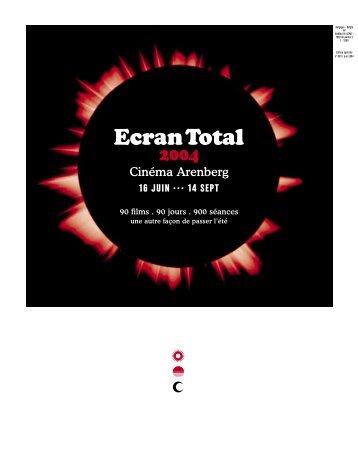 Ecran Total - Le P'tit Ciné