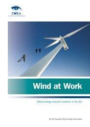 WIND AT WORK 2009 - European Wind Energy Association