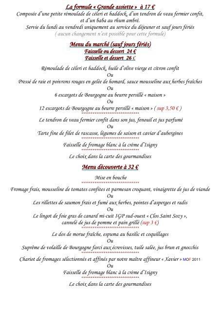 Carte Bourgogne Blanc.Consultez La Carte B Restaurants