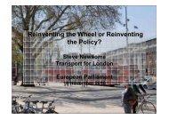 Transport for London - Steve Newsome - The Greens