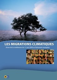 LES MIGRATIONS CLIMATIQUES - The Greens
